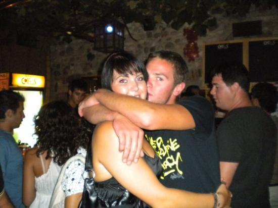 Cavaion Veronese, Italia: mein großer Bruder und ich :-)