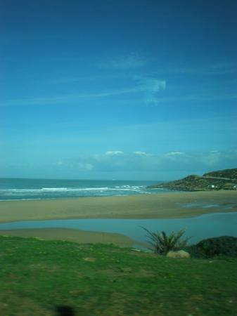 Tanger, Marokko: Gorgeous beach in Tangier