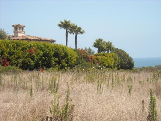 Malibu Lagoon State Beach: Hacienda hugging the cliff.