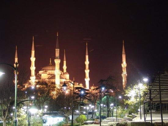 Den blå moské: Sultan Ahmet (Blue Mosque)