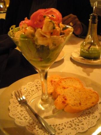 Collage Restaurant: Shrimp & scallop w/a lime sauce
