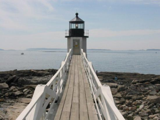 Port Clyde, ME: Marshall Point Lighthouse was featured in Forrest Gump. This was the lighthouse he ran to.