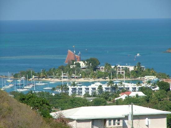 Carringtons Inn St. Croix: view from B&B