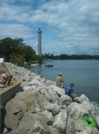 Put in Bay, OH: View from the bayshore