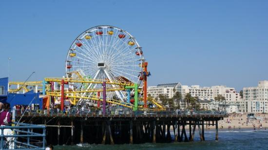 Los Angeles / Kalifornien: Santa Monica Pier
