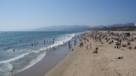 Santa Monica State Beach: Los Angeles / Kalifornien: Santa Monica