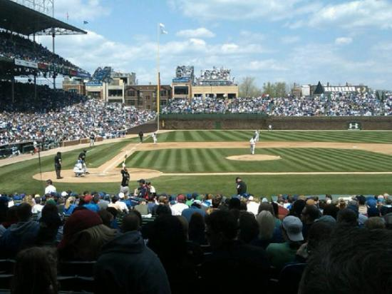 Wrigley Field: Great seats!