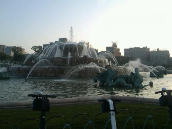 Buckingham Fountain: Married w children fountain