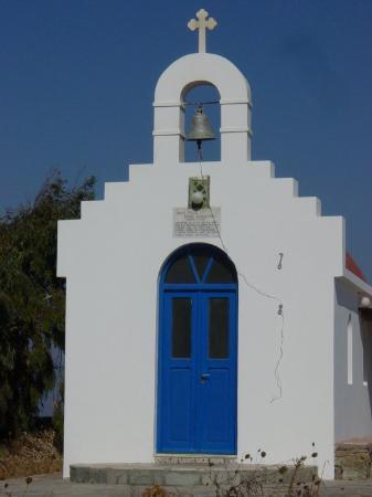 Mykonos by, Hellas: One of the three hundred and sixty five churches on Mykonos