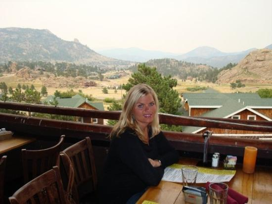 Estes Park, CO: Dinner out on our last night.