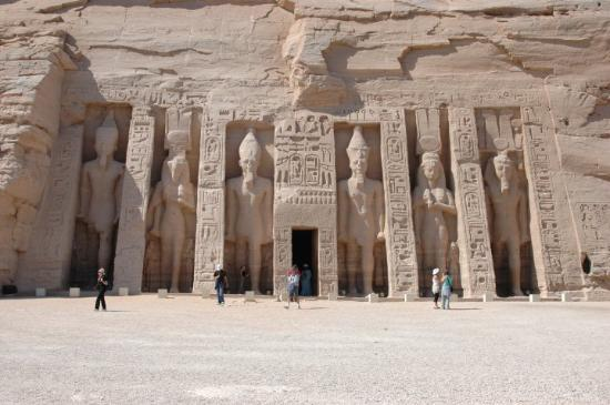 Bilde fra Abu Simbel