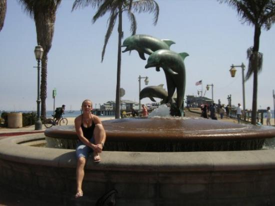 Santa Barbara (Da gabs auch echte Delphine, also jeden morgen beim joggen isch immer ne ganze Fa
