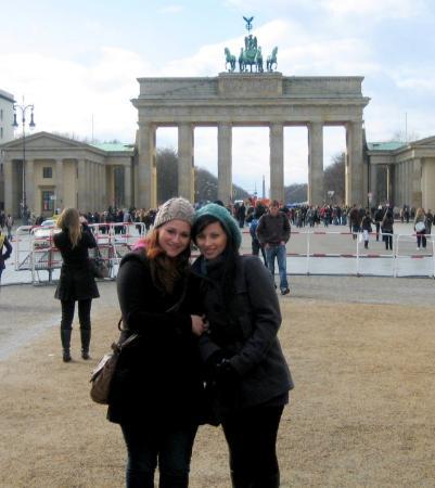 Brandenburg Gate (Brandenburger Tor): Branderburg gate