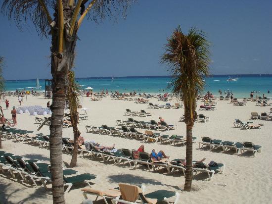 Hotel Riu Yucatan: Playa del Riu Yucatan
