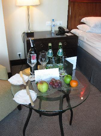 InterContinental Hotel Warsaw: 3108 welcome