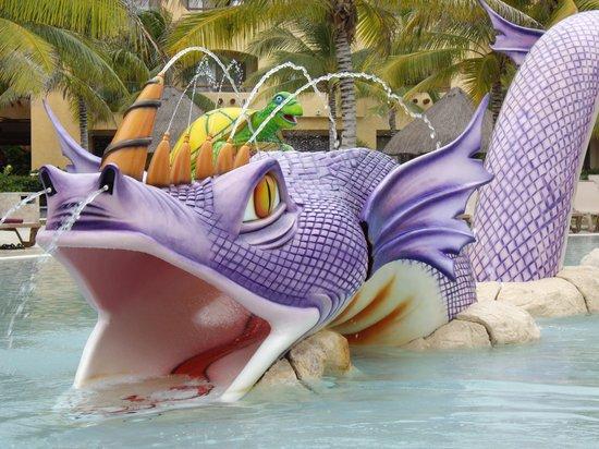 Barcelo Maya Beach: piscine des enfants