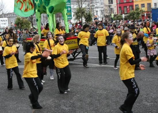 St Patricks Day, south mall cork 2010