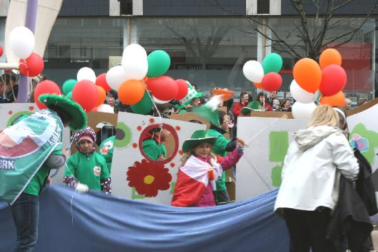 St Patricks Day, south mall cork 2010