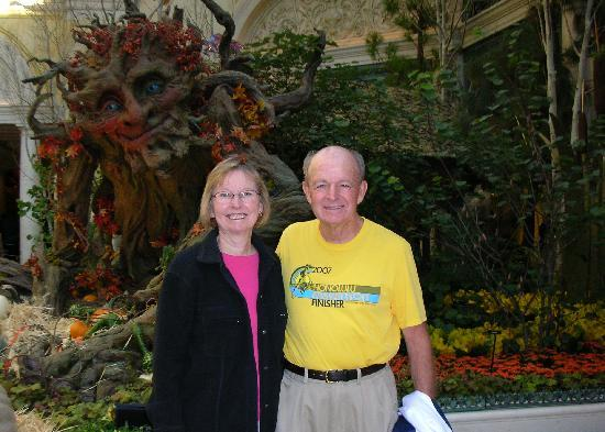 Bellagio Conservatory & Botanical Garden: A smiling tree