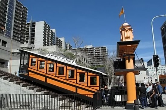 Los Angeles, Californie : Angels Flight Railway
