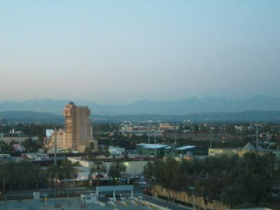 Hilton Anaheim: view from 11th floor - 300's - odd numbers