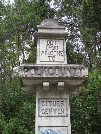 Forgotten Citrus Center Monument #2