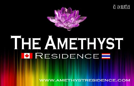 Amethyst Residence: Our sign