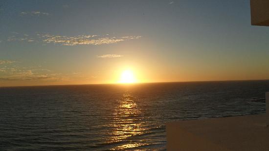 Hotel Riu Emerald Bay: Beautiful Sunset