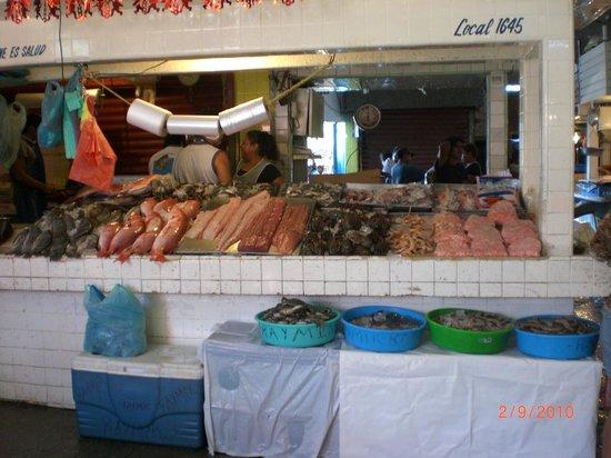 The Grand Mayan at Vidanta Acapulco: Meat at the Market
