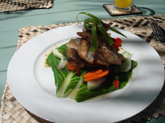 Mai Dive - Astrolabe Reef Resort: Chicken Lunch