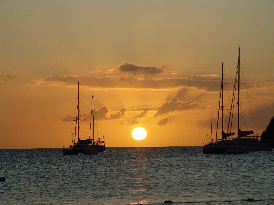 Sandals Grande St. Lucian Spa & Beach Resort: Sunset