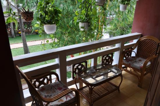 Ha An Hotel: our balcony