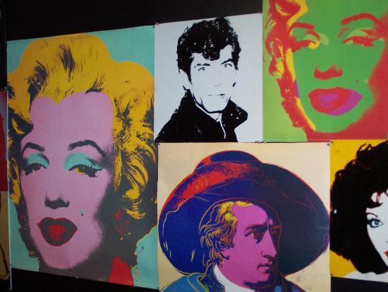 Andy Warhol Museum: Art education room