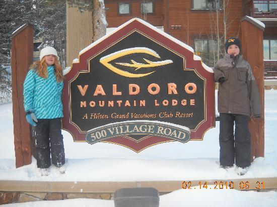 Valdoro Mountain Lodge: Resort Mascots