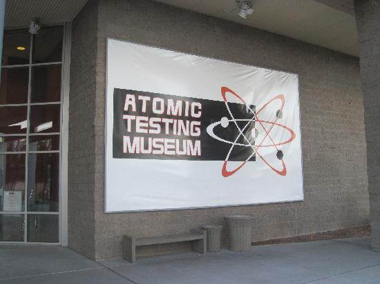 The National Atomic Testing Museum: Front Entrance