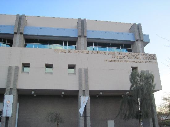 The National Atomic Testing Museum: Museum Building