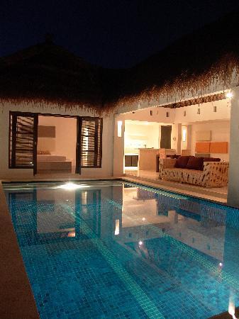 bvilla + Spa: our villa upon check in