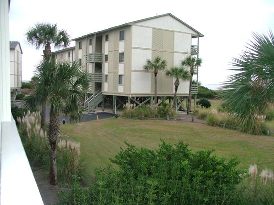 Lighthouse Point Beach Club: View of Another Condo Building