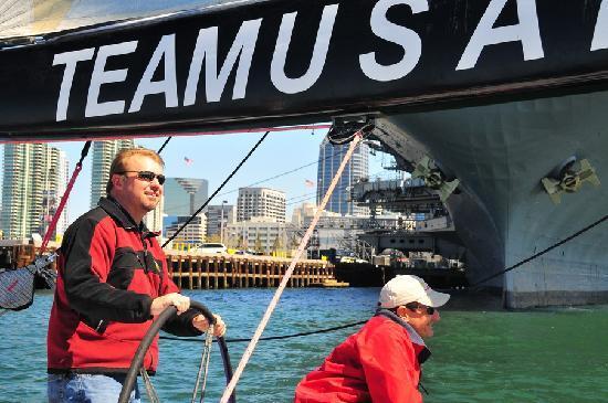 Sail Stars & Stripes USA-11: Sailing USA11