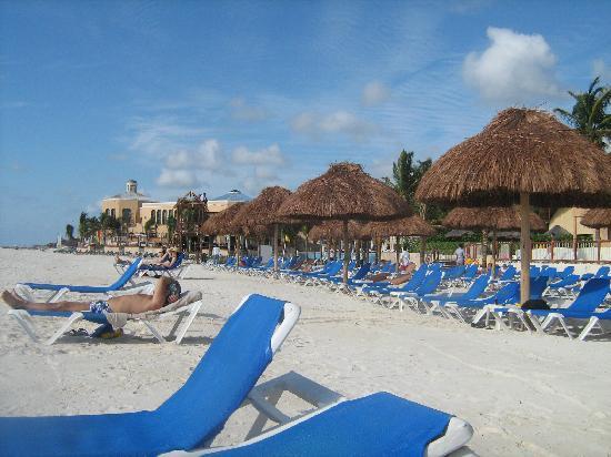 Allegro Playacar: Vista de la  playa
