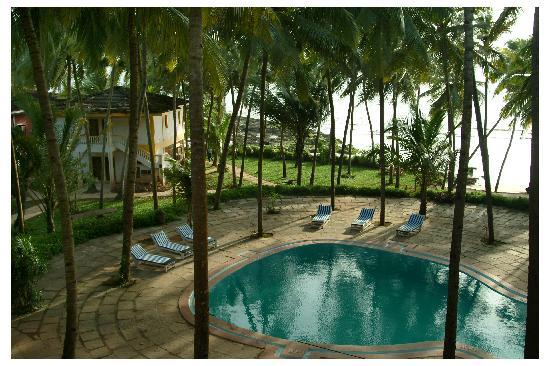 Bambolim Beach Resort: Sea view from Swimming pool is a plus point for this Resort