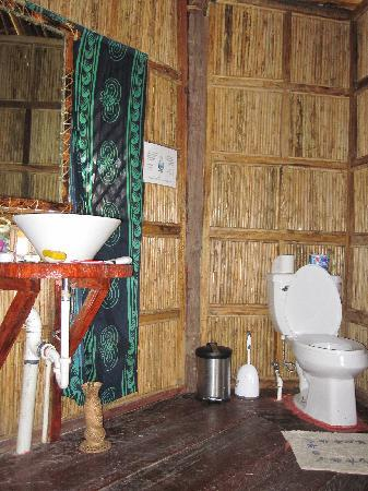 Yandup Island Lodge : bathroom