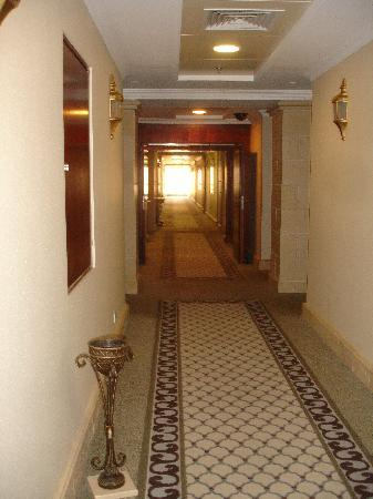 Oasis Hotel Jericho: the hallway at Intercon Jericho