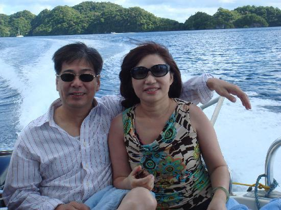 Airai Water Paradise Hotel & Spa: on the boat