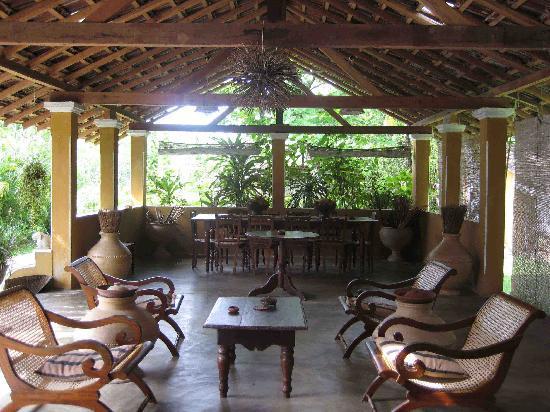 Florie Villa : la veranda della cucina