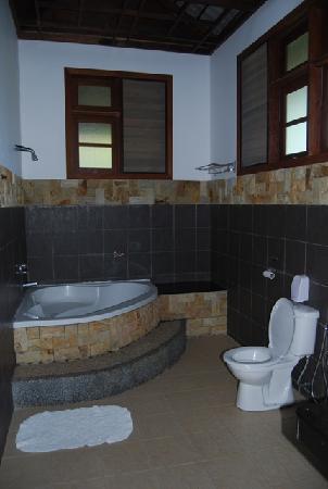 Felda Residence Hot Springs: Villa bathroom