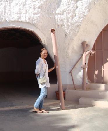 Matmata, Tunisia: ..Luke Skywalkers shed.  RII was a no show =(