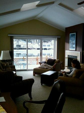 Our Suite on the River in Saugatuck