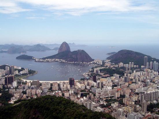 Sugarloaf Mountain: Rio de Janeiro - Vista desde el Corcovado (Cristo)