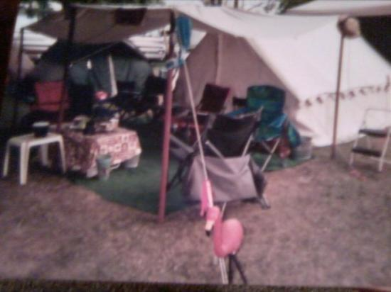 Smyrna, TN: Rob and Carols tent  This message has been sent using the picture and Video service from Verizon